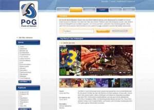 Der neues PoG-Websiten-Auftritt der Vedes