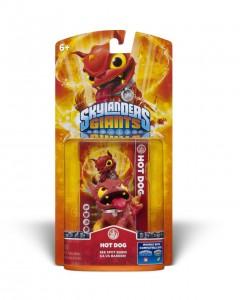 Im wahrsten Sinne des Wortes ein feuriges Hündchen: Der neue Hot Dog aus der Skylanders-Serie.