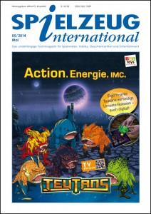 Cover Spielzeuginternational Mai 2014