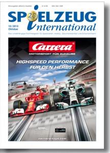Cover der 20. Jubiläumsausgabe von SPIELZEUGinternational