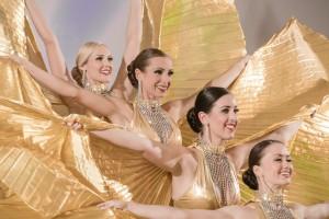 Schillernde Golden Girls eröffneten die Party zum 111. Geburtstag der VEDES