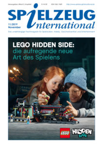 Spielzeuginternational Lego Hidden Side Cover der November 2019