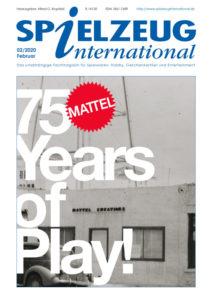 cover der Februar Ausgabe von SPIEZEUGinternational