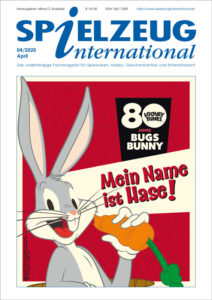 cover der April-Ausgabe von Spielzeuginternational